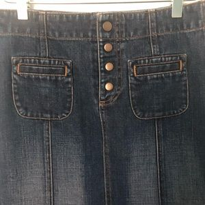 GAP Skirts - GAP Denim Maxi Skirt (4)